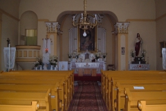 katolikus templom belső