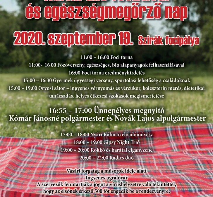 Kulturális fesztivál és egészségmegőrző nap